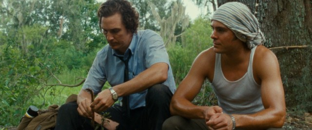 "In ""The Paperboy"", two brothers (Matthew McConaughey and Zac Efron) go looking for justice in the swamps of Florida."