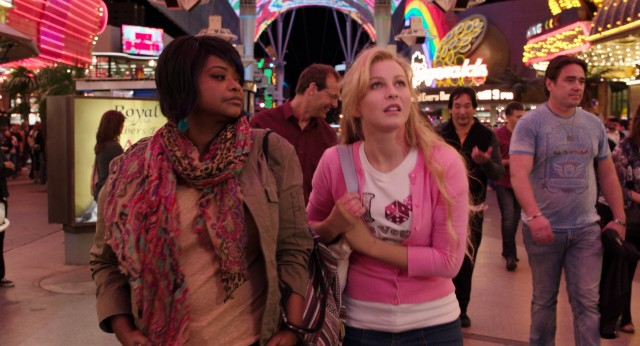 "A jaded lounge singer (Octavia Spencer) shows a small-town girl (Julianne Hough) around Las Vegas in Diablo Cody's ""Paradise."""