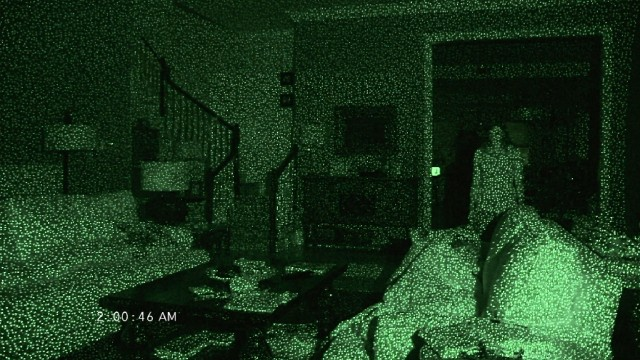 Paranormal activity 4 blu ray dvd review for Paranormal activities in the world