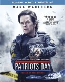 Patriots Day Blu-ray + DVD + Digital HD combo pack cover art