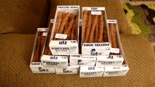 "Utz hard pretzel sticks are featured in the ""Stuff That Patton Mentions"" slideshow."