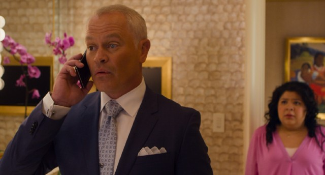 The world's most generic high-tech criminal (Neal McDonough) makes the mistake of checking into the Hotel Wynn the same weekend as Paul Blart and his daughter Maya (Raini Rodriguez).