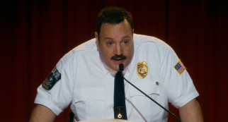 Paul Blart (Kevin James) gets to deliver the keynote speech at the SOTA convention.