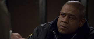 Sgt. Will Thompkins (Forest Whitaker) is alarmed by the strange behavior on display at the Be Brite Diner.