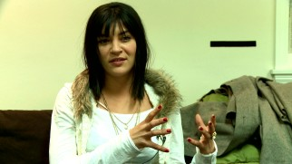 "Jessica Szohr explains what she likes about the film in ""Pawn: Behind the Scenes."""