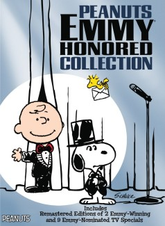 Peanuts Emmy Honored Collection DVD cover art -- click to buy from Amazon.com