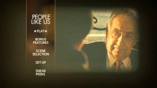Philip Baker Hall gets a moment on the DVD main menu's projected montage.