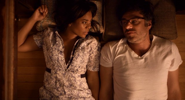 "Will (Jemaine Clement) shares a moment with Diane (Regina Hall) in ""People Places Things."""