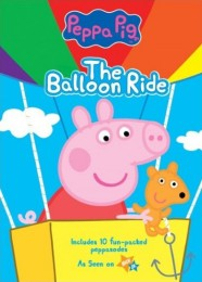 Peppa Pig: The Balloon Ride DVD cover art - click to buy from Amazon.com