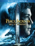 Percy Jackson: Sea of Monsters Blu-ray + DVD + Digital HD UltraViolet cover art -- click to buy from Amazon.com