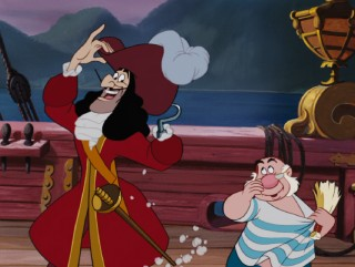 Captain Hook and Smee are the film's chief pirate villains.
