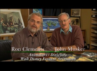 "Accomplished duo Ron Clements and John Musker host ""The 'Peter Pan' That Almost Was"", a 2007 featurette sharing various abandoned concepts from Disney's early story treatments."
