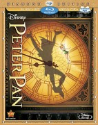 Peter Pan: Diamond Edition Blu-ray + DVD + Digital Copy combo cover art - click to buy from Amazon.com