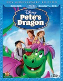 Pete's Dragon: 35th Anniversary Edition Blu-ray + DVD cover art -- click to buy from Amazon.com