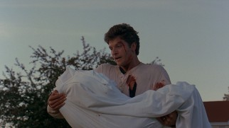 A bloodied Louis Creed (Dale Midkiff) sets out to find whether this is one of those times that dead isn't better.