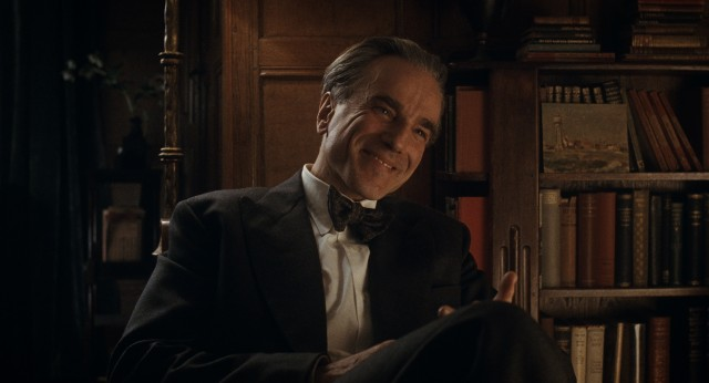 "In what he has declared to be his final film, Daniel Day-Lewis reunites with his ""There Will Be Blood"" writer-director Paul Thomas Anderson to play Reynolds Woodcock, the lead character of ""Phantom Thread."""