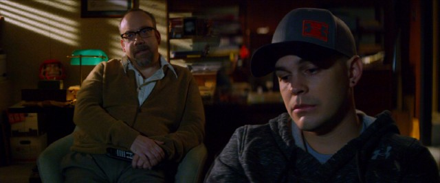 "In ""The Phenom"", struggling major league pitcher Hopper Gibson (Johnny Simmons) consults esteemed sports psychologist Dr. Mobley (Paul Giamatti)."
