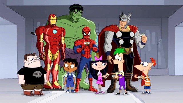 Phineas And Ferb Mission Marvel Dvd Review
