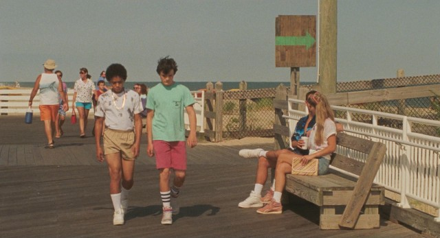 "Teddy Fryy (Myles Massey) and Radford Miracle (Marcello Conte) quickly become best friends in ""Ping Pong Summer"", a coming-of-age comedy set in 1985 Ocean City, Maryland."