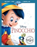 Pinocchio: The Walt Disney Signature Collection (Blu-ray + DVD + Digital HD) - January 31