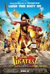 The Pirates! Band of Misfits (2012) movie poster