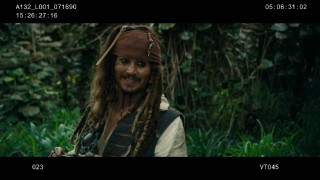 "Johnny Depp takes Captain Jack Sparrow to new heights of silliness in ""Bloopers of the Caribbean."""