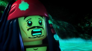 A CG-animated LEGO Jack Sparrow is the star of five 1-minute shorts.