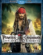 Pirates of the Caribbean: On Stranger Tides Blu-ray + DVD combo pack cover art -- click to buy from Amazon.com