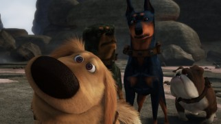 """Dug's Special Mission"" shows us what Dug, Alpha, Beta, and Gamma were up to right before Carl and Russell met Dug."