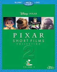 Pixar Short Films Collection, Volume 2 Blu-ray + DVD cover art -- click to buy from Amazon.com