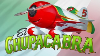 "El Chupacabra is one of four planes introduced in ""Meet the Racers"" shorts."