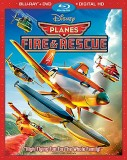 Planes: Fire & Rescue Blu-ray + DVD + Digital HD combo pack cover art -- click to buy from Amazon.com