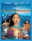Pocahontas & Pocahontas II: Journey to a New World 2 Movie Collection Blu-ray + DVD cover art -- click for larger view and to preorder from Amazon