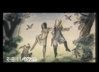 Pocahontas and John Smith frolic in nature in this deleted musical number.