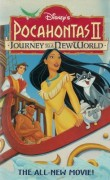 Pocahontas II: Journey to a New World (1998) original VHS cover art