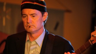 Portland's missing mayor (Kyle MacLachlan) is found sporting a soul patch and playing bass in a real roots reggae band.