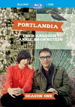Portlandia: Season One Blu-ray + DVD cover art - click to buy from Amazon.com