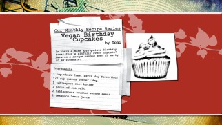 Toni's vegan birthday cupcake recipe is included as part of a brief excerpt of the upcoming Portlandia: A Guide for Visitors.""