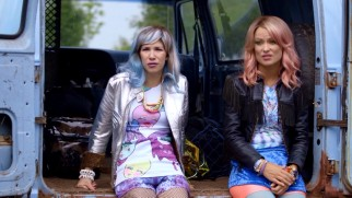 Ecoterrorists (Carrie Brownstein and Olivia Wilde) can't agree on an action plan.