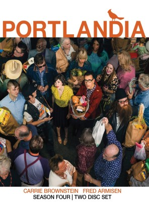 Portlandia: Season Four DVD cover art - click to buy from Amazon.com