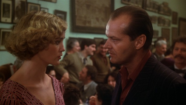 """The Postman Always Rings Twice"" tells the story of a Depression era love affair between Cora Papadakis (Jessica Lange) and Frank Chambers (Jack Nicholson)."