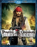 Pirates of the Caribbean: On Stranger Tides Blu-ray + DVD cover art