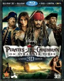 Pirates of the Caribbean: On Stranger Tides Blu-ray 3D + Blu-ray + DVD + Digital Copy 3-disc combo pack cover art