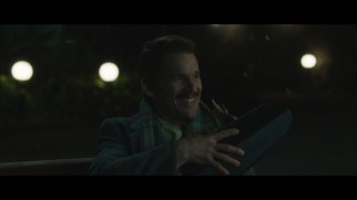 Jumping through time gives a violin case-clutching Ethan Hawke the giggles in the bloopers reel.