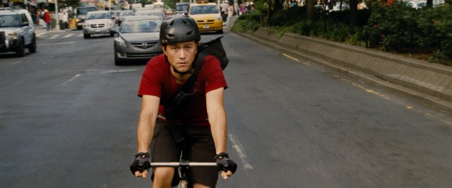 """Premium Rush"" stars Joseph Gordon-Levitt as fast and nimble New York City bike messenger Wilee."