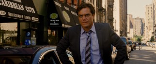 "Michael Shannon plays Bobby Monday, a dirty cop who wants what Wilee has in ""Premium Rush."""