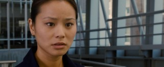 Nima (Jamie Chung) has much riding on the delivery that the movie sees through.
