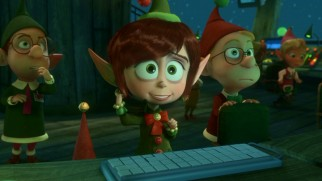 North Pole command center coordinator Magee (voiced by Sarah Chalke) is on edge over the Terwelp house drama, as she has to give the rarely used Figgy Pudding code to reroute The Big Guy.