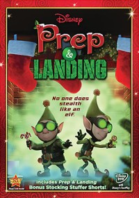 Disney's Prep & Landing DVD cover art -- click to buy from Amazon.com