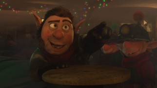 """Prep & Landing: Naughty vs. Nice"" introduces Wayne's mutton-chopped younger brother Noel, a coal elf voiced by Rob Riggle."